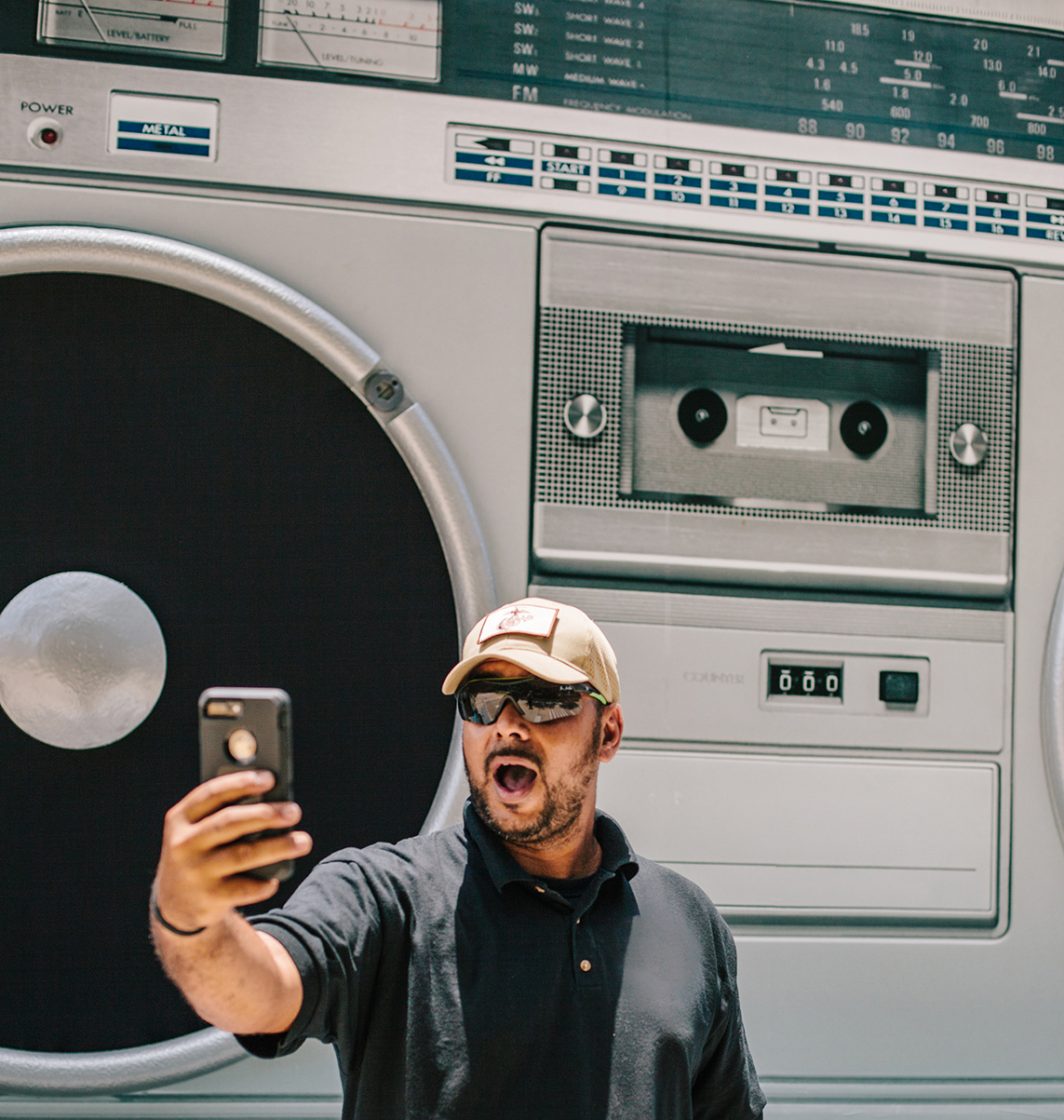 005 Silverpeak Boombox Selfie